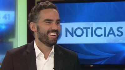 Noticias 41 le da la bienvenida en San Antonio al presentador de Noticiero Univision Edición Nocturna