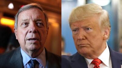 Dick Durbin, Senador de Illinois hace un llamado para iniciar un juicio político contra Donald Trump