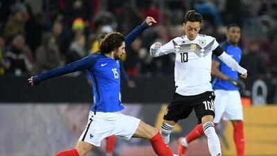 Alemania vs. Francia en vivo, horario y como ver el partido de la Liga.