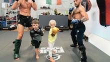 Conor McGregor regresa del retiro e inicia entrenamientos