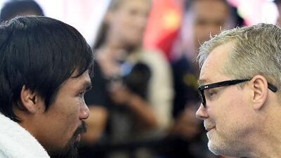 A Freddie Roach le encantaría ver a Pacquiao enfrentar al ganador de Spence-García