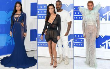 Fashionometro: El glamour de la alfombra de los MTV Video Music Awards