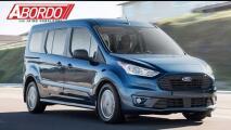Chicago Auto Show: Ford mejora su van de trabajo Transit Connect 2019