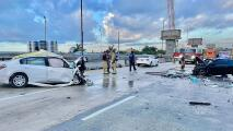 Una persona muere en aparatoso accidente en la autopista 836