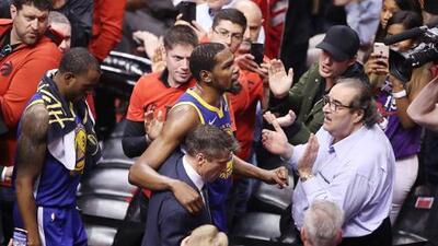 ¿Kevin Durant habría podido frenar a los Raptors?