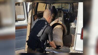 Incautan una bazuca cerca de la frontera de Arizona desde donde lanzaban la droga