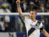 Zlatan no se fue celebrando su doblete sino incómodo con segundo tiempo de LA Galaxy