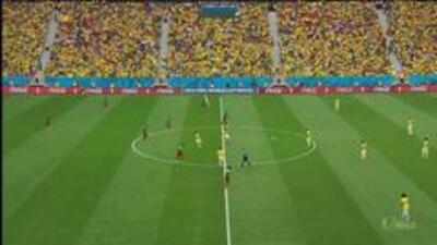 Highlights:Brasil at Camerún on June 23, 2014