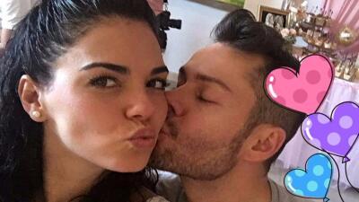 Livia Brito felicitó con románticas fotos a su novio Said 'El Caballero'