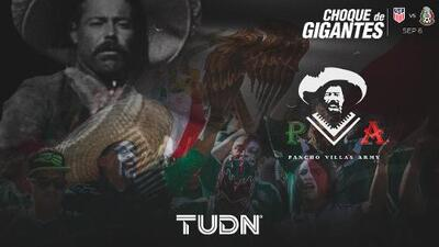 Pancho Villa's Army: el amor al Tri no conoce fronteras