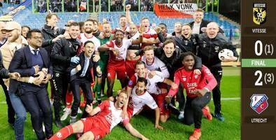 Utrecht obtiene lugar en el repechaje de la Europa League
