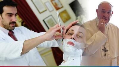 "Papa Francisco manda a los peluqueros a ""evitar el chisme"""