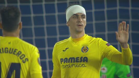 ¡Liquidan! Gerard Moreno hace el 2-1 y sentencia al Salzburg