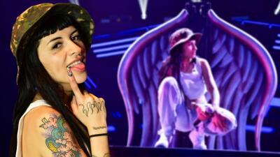 Foto a foto, los tatuajes de Cazzu en los ensayos de Premios Juventud