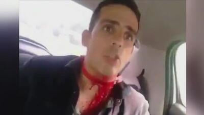 """""""Me gritaban sapo"""":  Luis Olavarrieta, periodista herido durante el desarrollo del plebiscito en Caracas"""