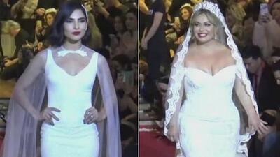 Chiquis Rivera desfiló junto a Alejandra Espinoza vestida de novia, ¿así la veremos con Lorenzo Méndez?
