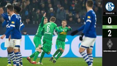 Oh sorpresa: Mönchengladbach desplazó a Bayern Munich como segundo en Bundesliga