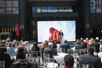 La Universidad de la Hamburguesa: la nueva sede de Mc Donald's en el centro de Chicago