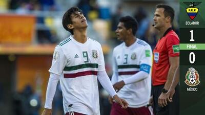 ¡Se consumó el desastre! México cayó ante Ecuador y ya vuelve a casa