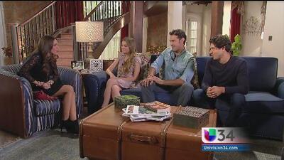Protagonistas de 'Vino el Amor' hablan del estreno de esta telenovela