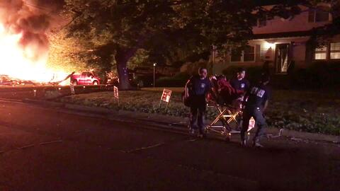 Explosión en una casa de Nueva Jersey deja a un hombre con quemaduras graves