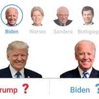 Interactivo: ¿Puede algún demócrata vencer a Trump? Elige a un candidato