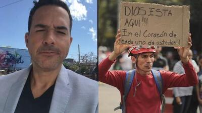 Carlos Calderón relata su experiencia el día del terremoto en Ciudad de México