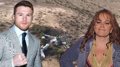 Avión que se estrelló con fans del 'Canelo' era de la misma empresa que rentó la aeronave donde murió Jenni Rivera