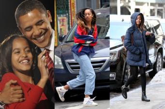 La transformación del look de Malia Obama: de hija del presidente a joven normal