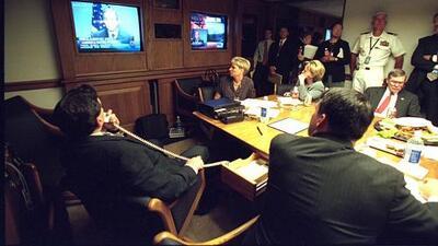 Imágenes de la Casa Blanca durante los ataques de 11 de septiembre