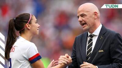 Infantino quiere Mundial de Clubes y Nations League femenina