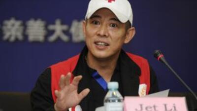 Jet Li, primer embajador mundial de la Cruz Roja