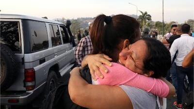 """El momento """"es hoy o nunca"""": venezolanos exiliados se muestran optimistas frente al anuncio de Guaidó"""