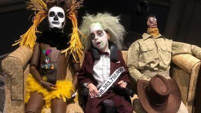 Padres recrean los más fabulosos disfraces de Halloween para su hijo con parálisis