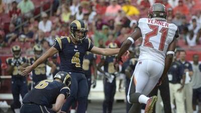 Rams 19-17 Buccaneers: La pierna de Zuerlein le dio la victoria a los Rams