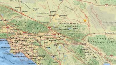 Temblor de magnitud 3.4 estremeció la zona de Big Bear en California
