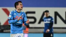 Se arrepintió el Napoli de gastar 40 millones por Hirving Lozano