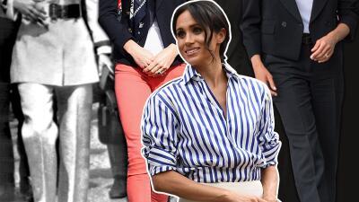 Meghan no es la única: otras raras veces que la realeza británica ha usado pantalones (incluida la reina)