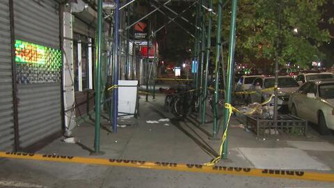 Un repartidor de comida murió de un balazo durante un tiroteo en Manhattan
