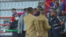 Hubo bronca al final del primer tiempo entre Pachuca y Pumas