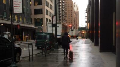 Lunes lluvioso y frío en New York y New Jersey