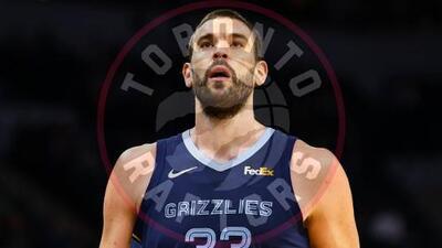 El español Marc Gasol es canjeado de los Grizzlies a los Raptors