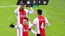 Provoca penal Edson Álvarez en triunfo del Ajax