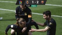Griezmann mantiene vivas las esperanzas del Barcelona