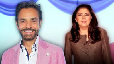 """Eugenio Derbez revela por qué llama """"la fiera"""" a su ex Victoria Ruffo"""
