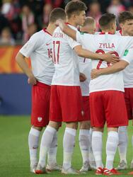 Team of Poland prior the 2019 FIFA U-20 World Cup group A match between Senegal and Poland at Lodz Stadium on May 29, 2019 in Lodz, Poland. (Photo by Foto Olimpik/NurPhoto via Getty Images)