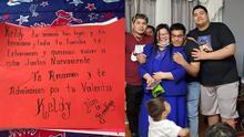 Madre hondureña logra reunirse con sus hijos en Filadelfia antes del Día de las Madres