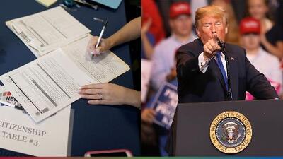 Trump quiere castigar a residentes que hayan usado estampillas de comida, asistencia económica o tengan Obamacare