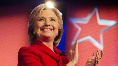 Hillary Clinton hoy en El Gordo y la Flaca