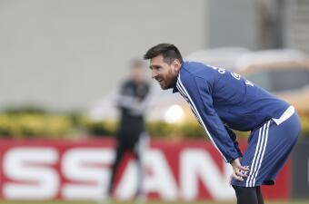 Argentina no aplicará la de 'poner sus barbas a remojar' con Leo Messi